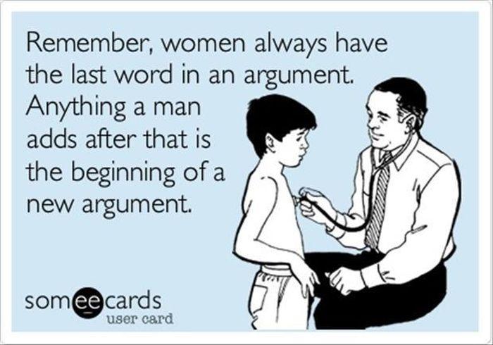 Women's Logic Will Never Be Explained