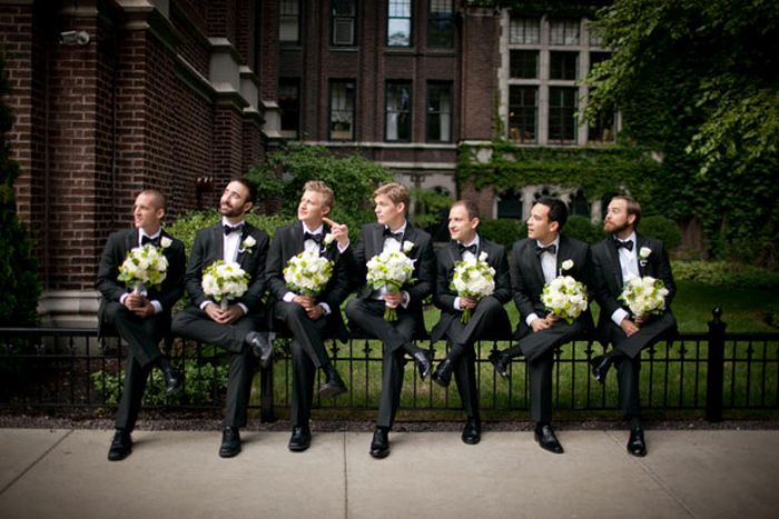 Groomsmen Photos With A Twist