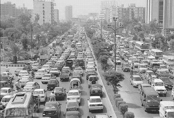 Insane Traffic Jams