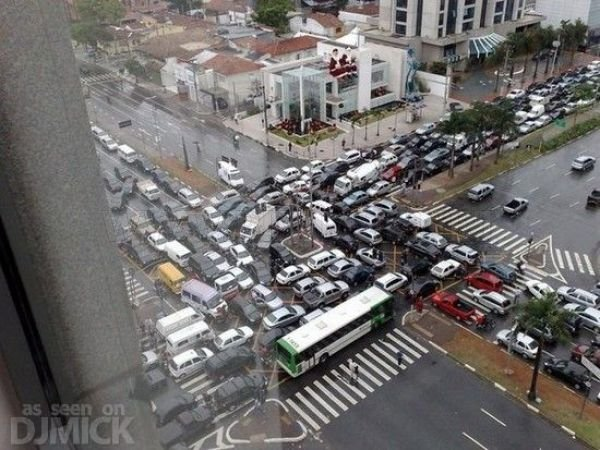 Insane Traffic Jams
