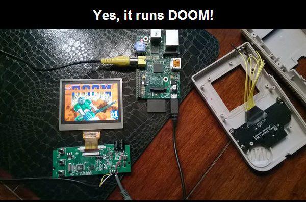 A Custom Version Of The Nintendo Gameboy