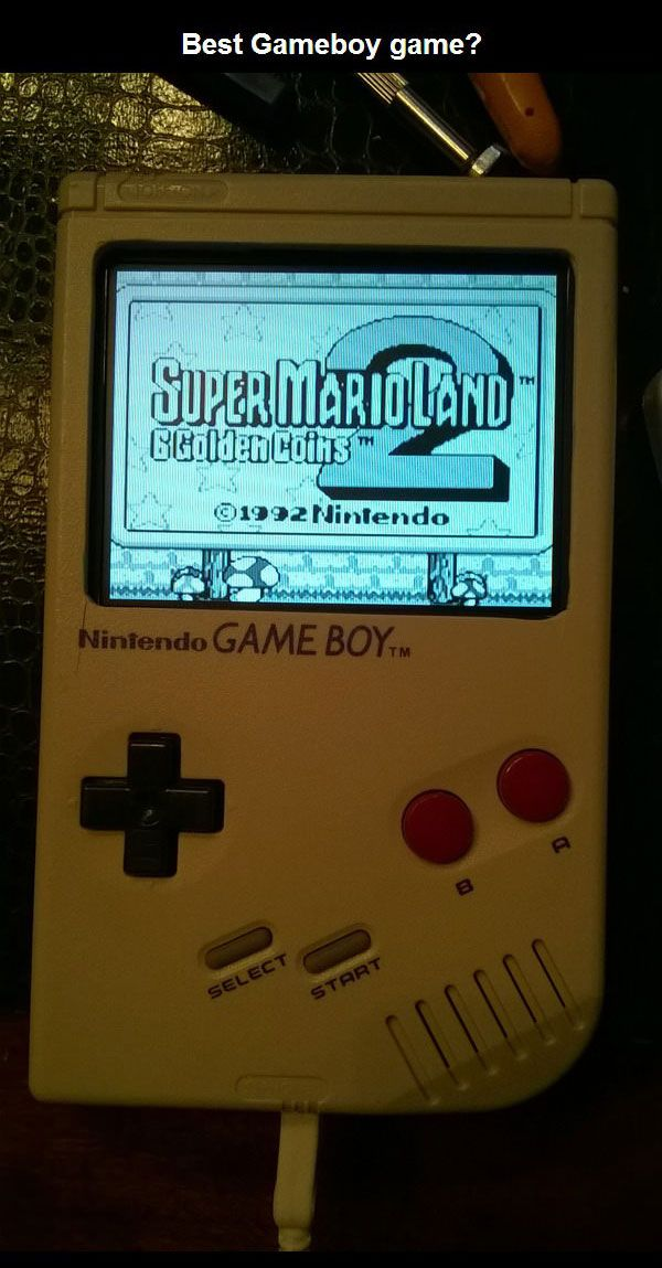 A Custom Version Of The Nintendo Gameboy