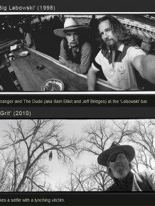Candid Behind The Scenes Photos By Jeff Bridges
