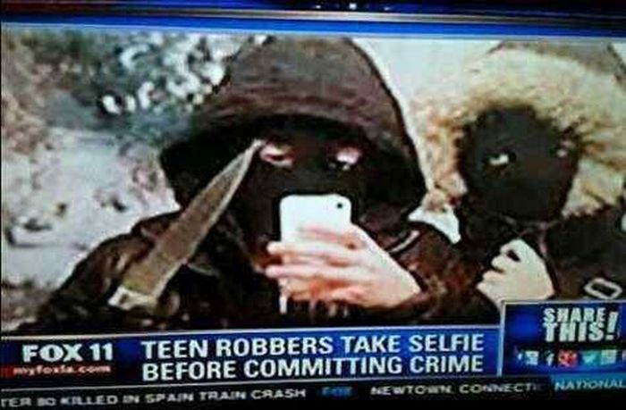 These People Picked The Worst Time To Take A Selfie