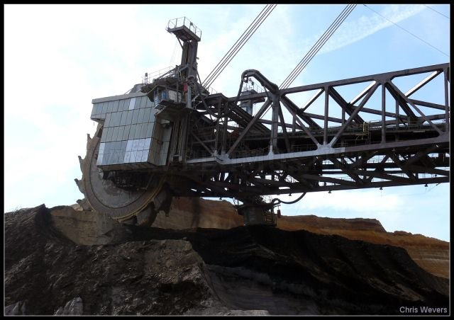 Excavator Bagger 288, part 288