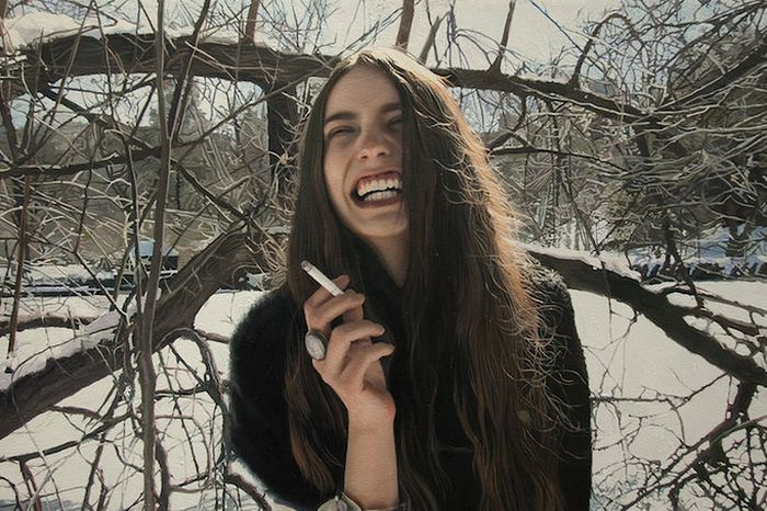 Yigal Ozeri Paints Beautiful Pics Of Beautiful Women