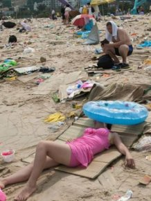 China Has Some Dirty Beaches