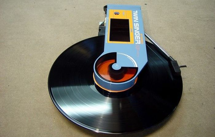 Weird Looking Portable Record Player