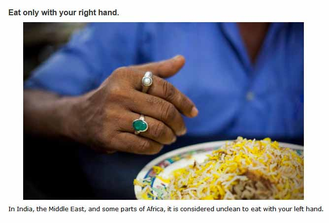Dining Tips For Eating In Different Countries