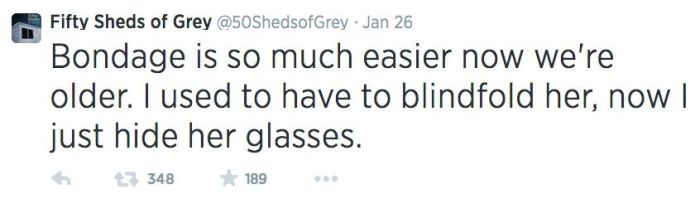 Fifty Shades Of Grey Makes For Great Parody Tweets