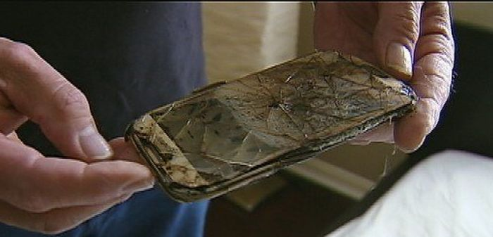 Samsung Phone Catches On Fire Under A Pillow