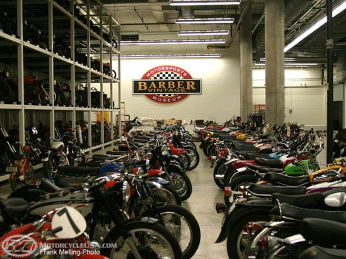 The George Barber Motorcycle Museum Is Epic