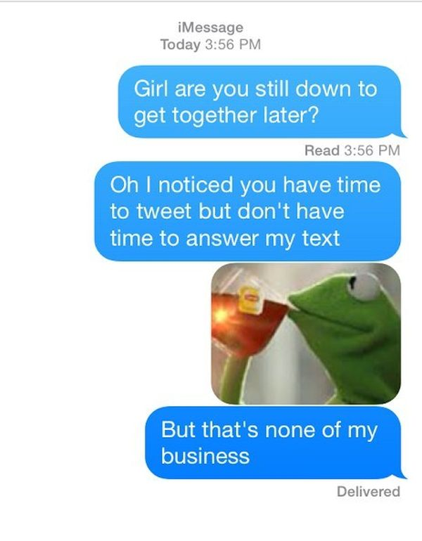 why guys don t text back