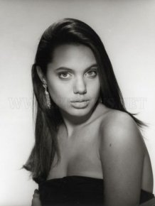 Angelina Jolie in youth