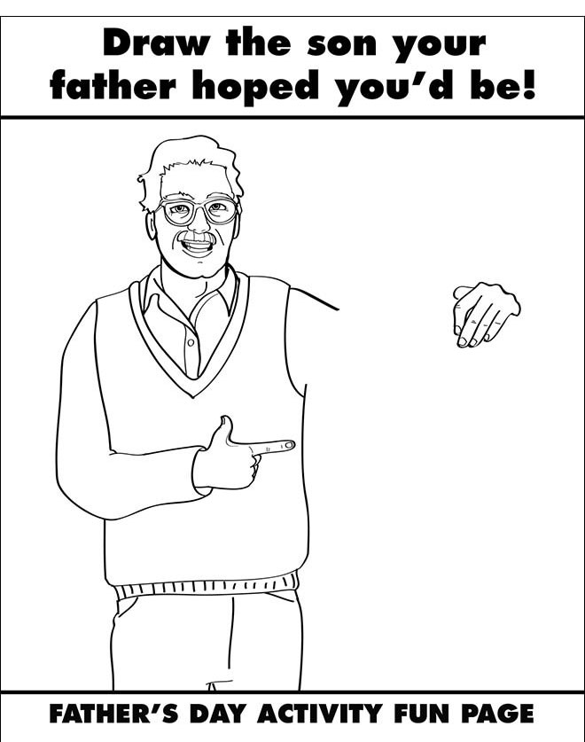 If Grown Ups Used Coloring Books