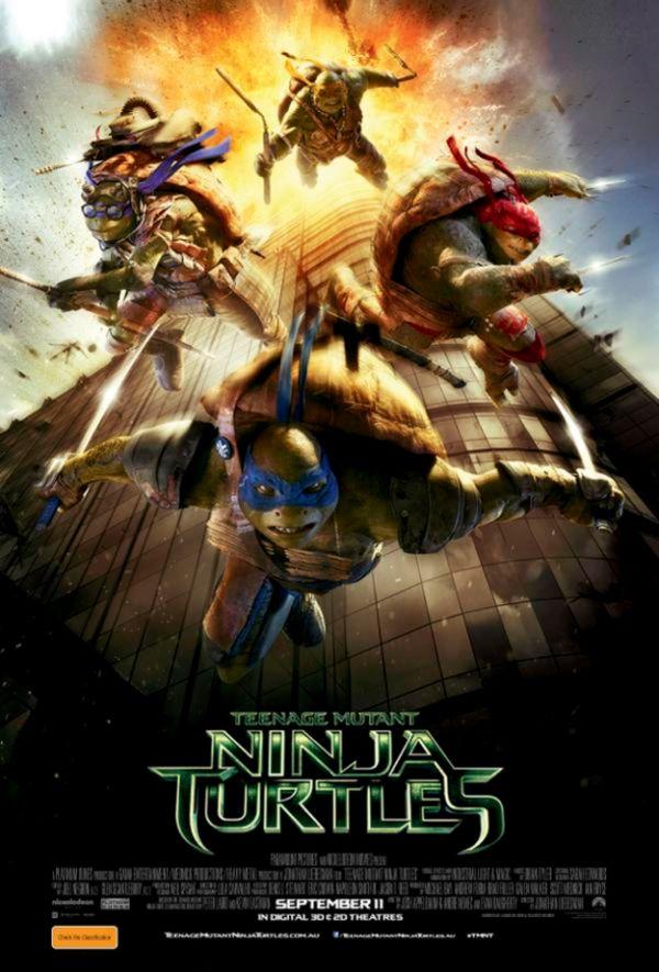 "Controversial ""Teenage Mutant Ninja Turtles"" Poster"