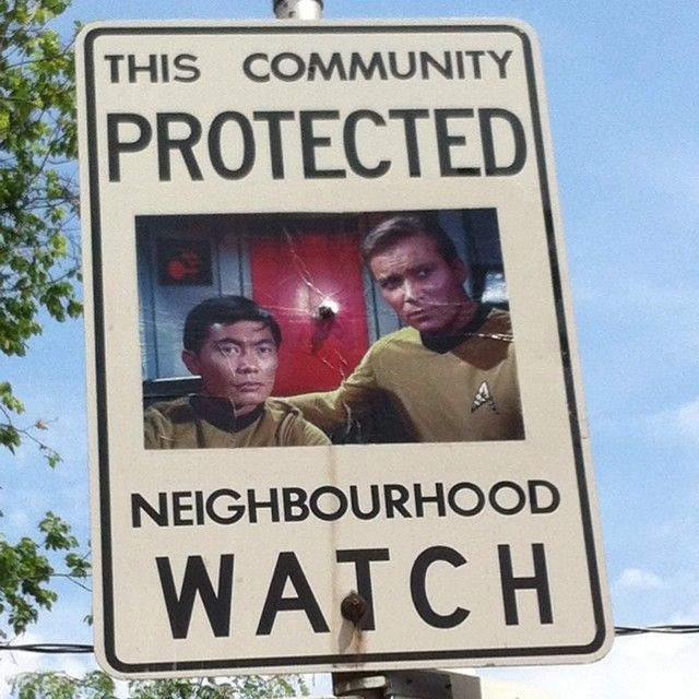 These Neighborhood Watch Signs Aren't Messing Around