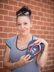 How A Pair Of Flip Flops Saved A Woman's Life