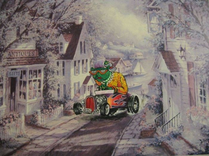 Popular Characters Make Old Paintings Much Cooler