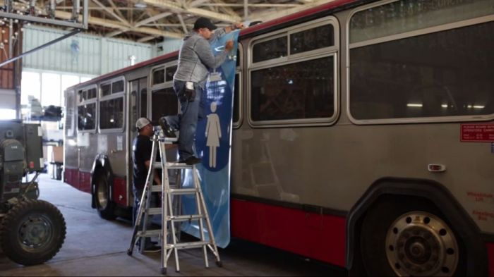 San Francisco Buses Give The Homeless A Shower