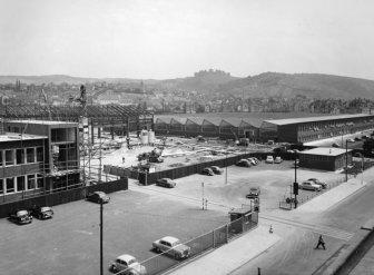 Mercedes-Benz Factory in 1956