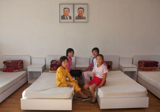 North Korean summer camp