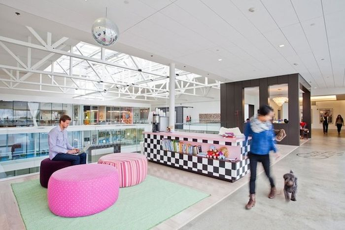 Companies With The Coolest Office Designs