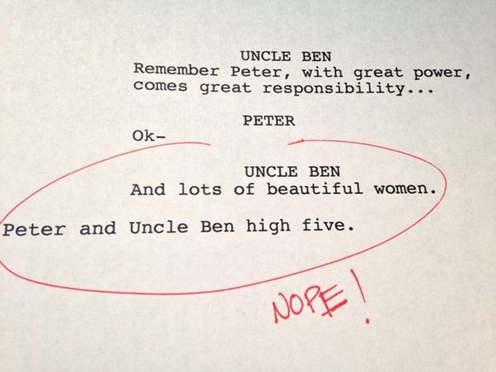 Terrible Rough Drafts From Your Favorite Movies