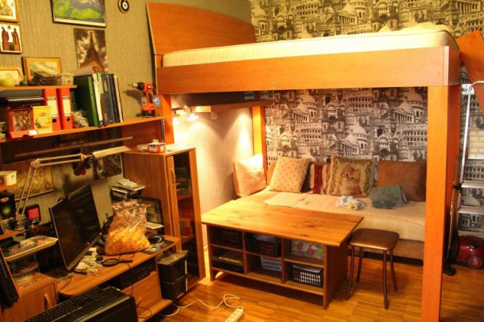 How To Make A Loft Bed At Home