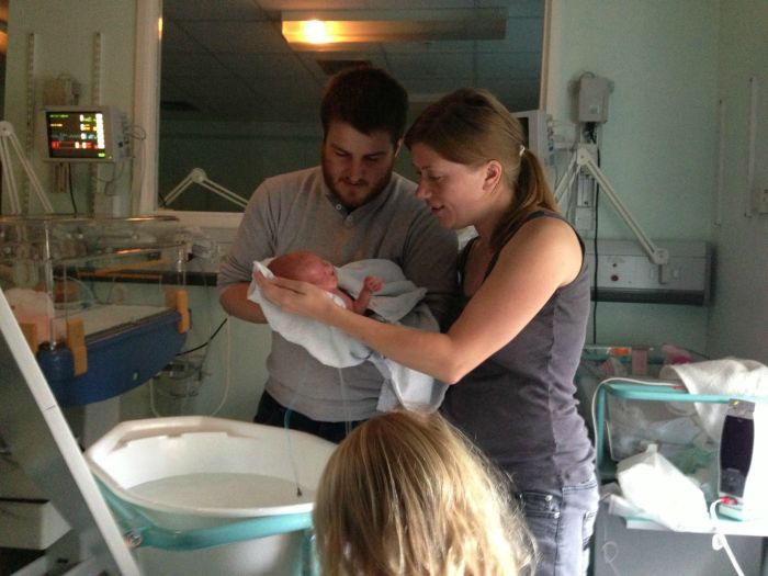 Baby Is Born 16 Weeks Early