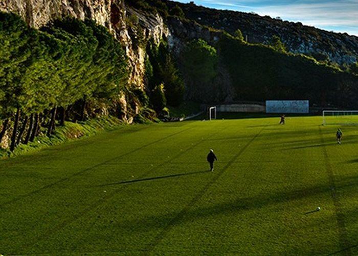 Amazing Football Field In Monaco
