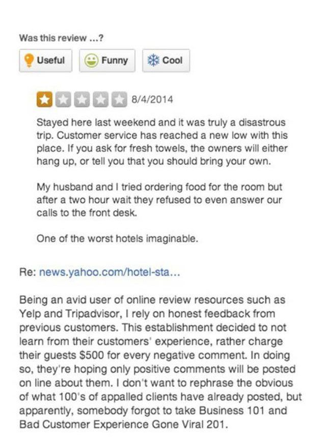 Union Street Guest House Takes On The Internet