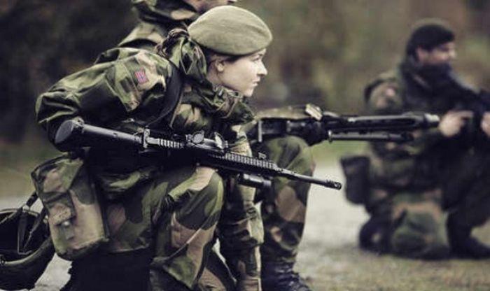 The Women Of The Norwegian Military