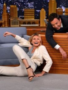 Cameron Diaz And Jimmy Fallon Turn Into A Meme