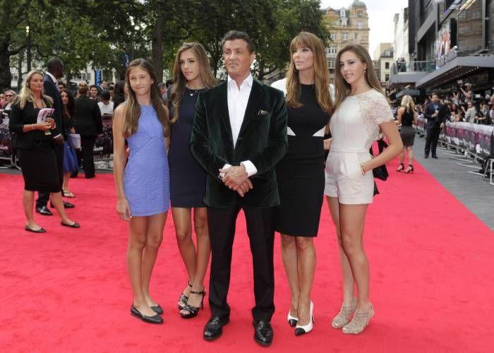 Sylvester Stallone Has A Gorgeous Family