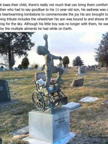 Amazing Tribute To Disabled Son