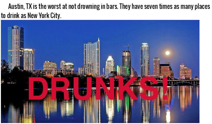 These 15 Places Are The Worst At Certain Things