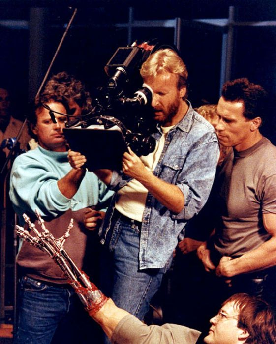 Behind The Scenes Pictures From Iconic Movies