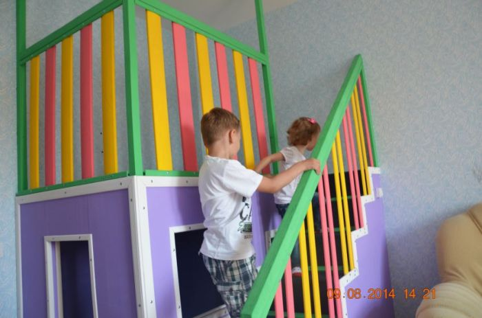 A DIY House For Little Kids