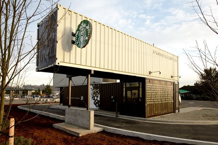 Shipping containers turned into cool homes others - Turning shipping containers into homes ...