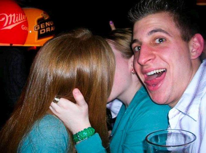 Guys Reacting To Girls Kissing Girls