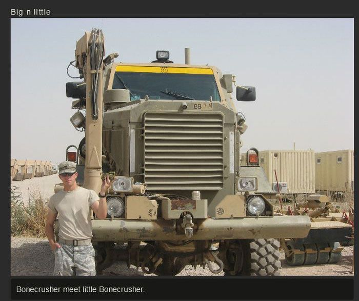 The Life Of A US Soldier In Iraq