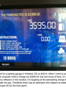 Most Expensive Parking Ever