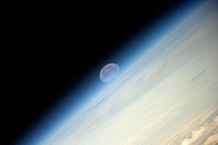 Pictures Of The Moon From The ISS