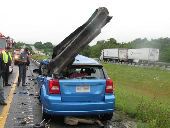 Horrific Car Wreck