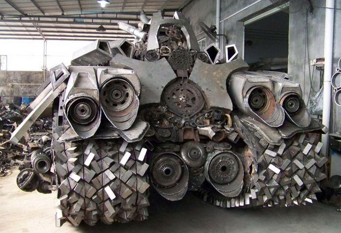 Transformers Fan Builds An Epic Megatron Tank