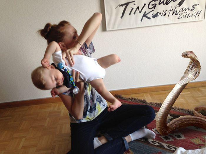 Hilarious Babysitter Photoshops