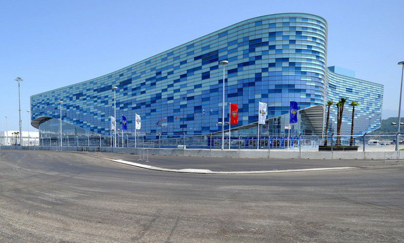 Sochi Formula 1 Circuit two months before the first Grand Prix of Russia