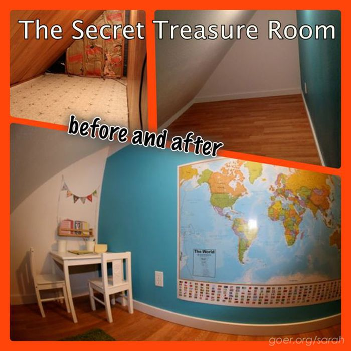 Secret Treasure Room