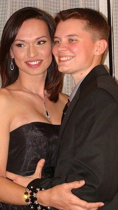 The Happy Transgender Couple